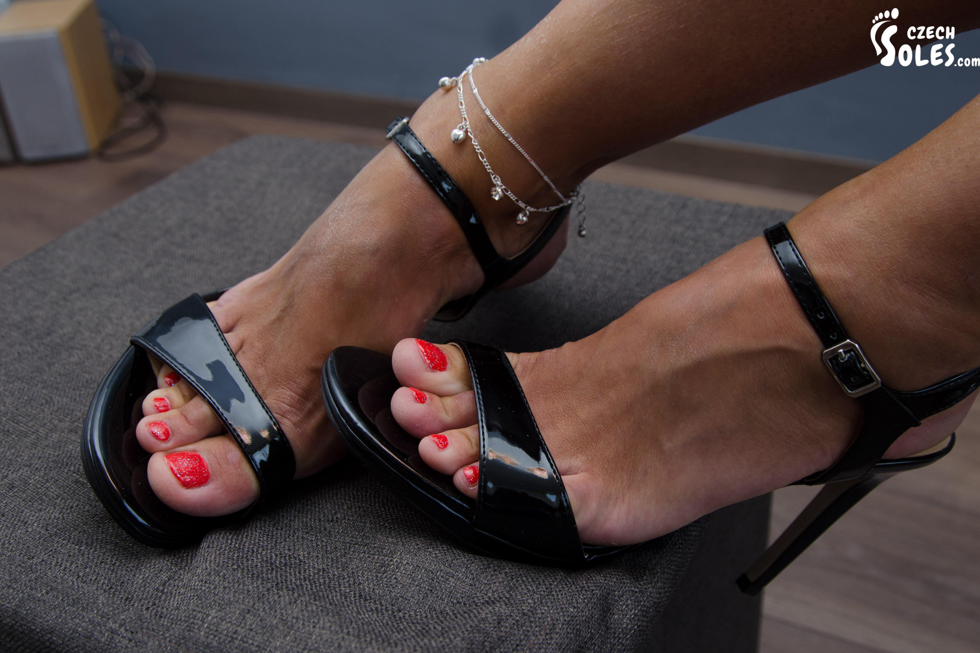 Worship our perfect feet and suck our tiny toes - 1 part 3